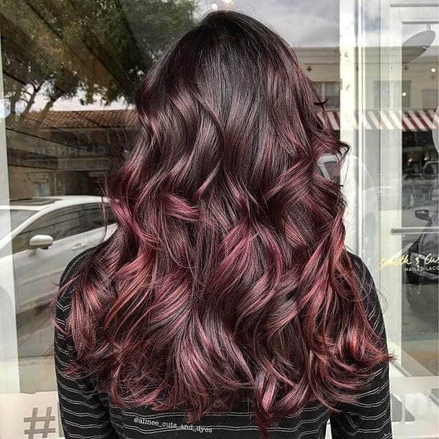 best burgundy hair dye to Rock this Fall 2019 21