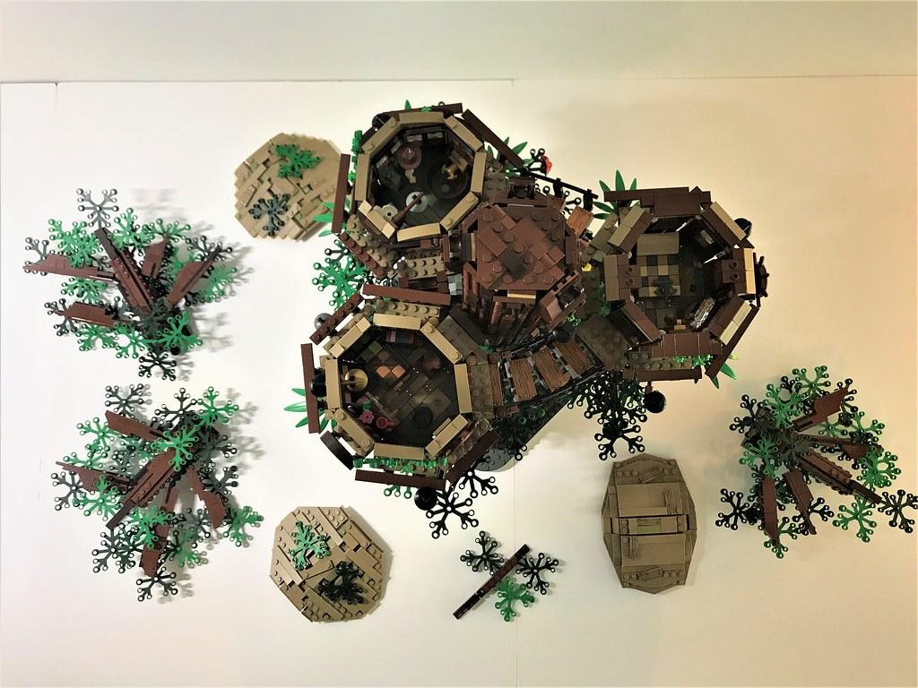 擁有複雜結構的精美「樹屋」、懷舊的「摩登原始人」確定商品化!! 2018年樂高IDEAS 作品第一波審核結果公開~