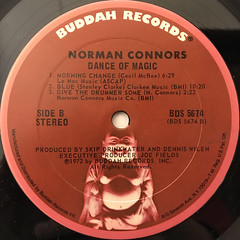 NORMAN CONNORS:DANCE OF MAGIC(LABEL SIDE-B)