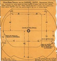 Garrard Super Gramophone Motore