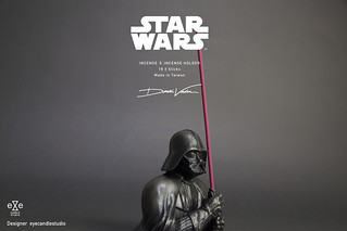 Incense Mixed with Dark Side! Darth Vader Incense Holder from Eye Candle Studio