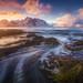 Lofoten swirl by albert dros
