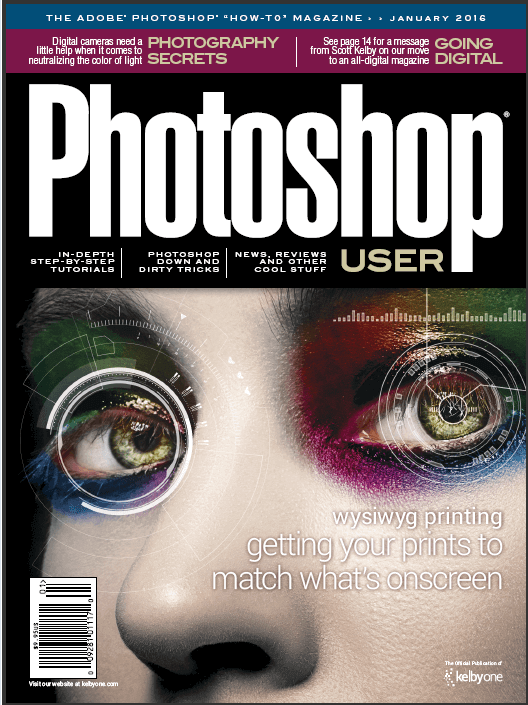 "The magazine ""Photoshop User"" January 2016 (English)"