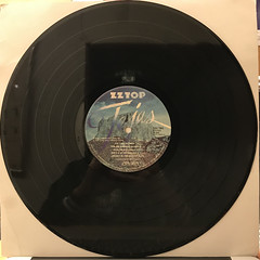 ZZ TOP:TEJAS(RECORD SIDE-B)