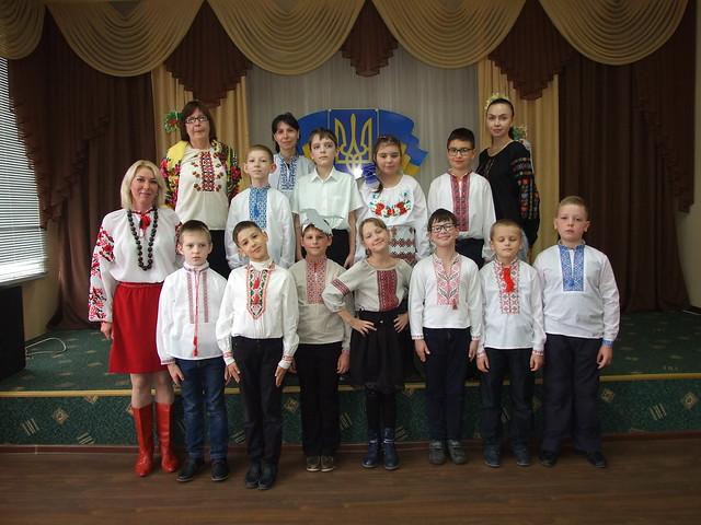 Родинне свято української пісні «Пісня лине солов'їна» в ЗОШ №13