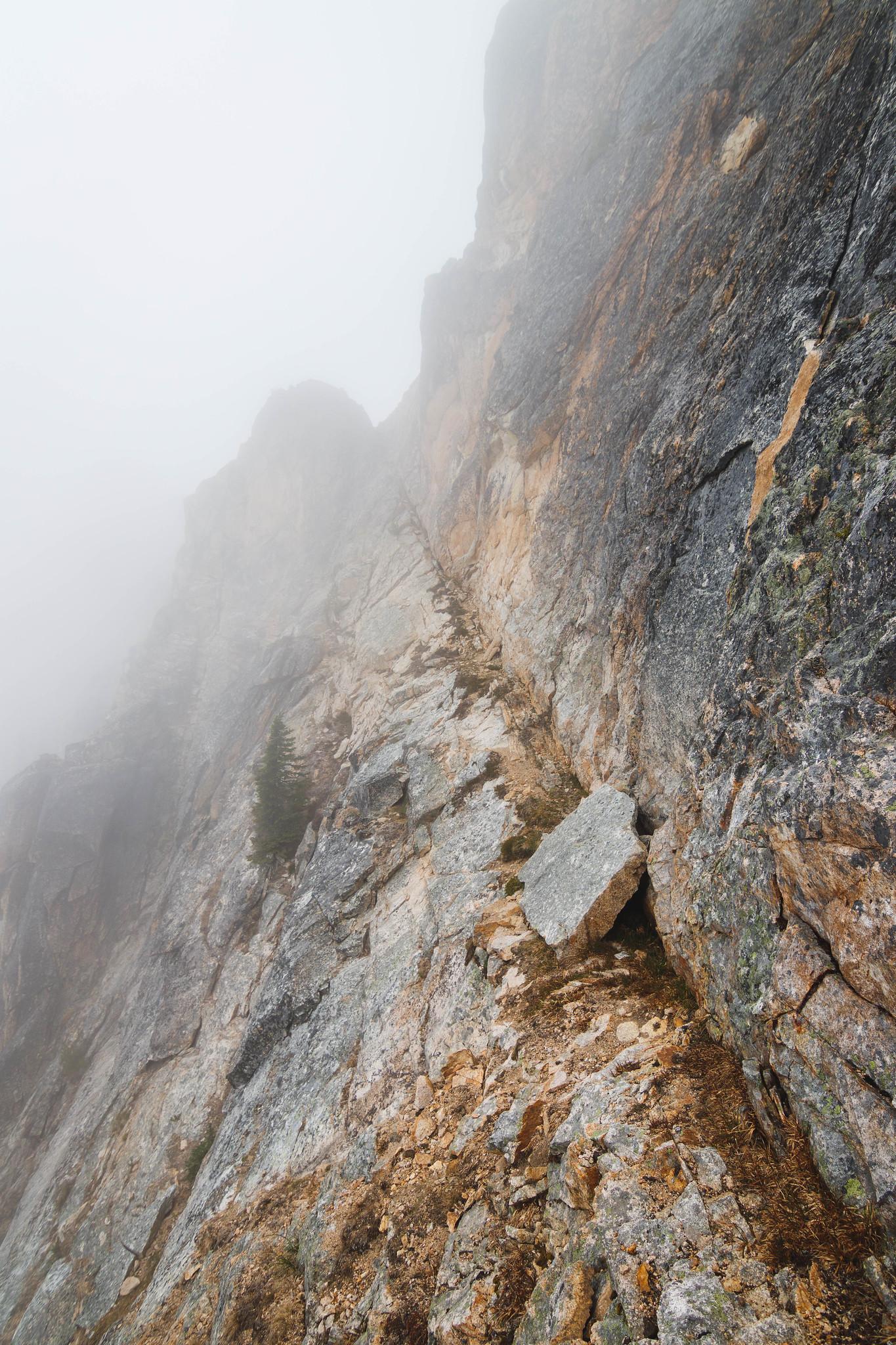 Cutthroat Peak Northwest ledge
