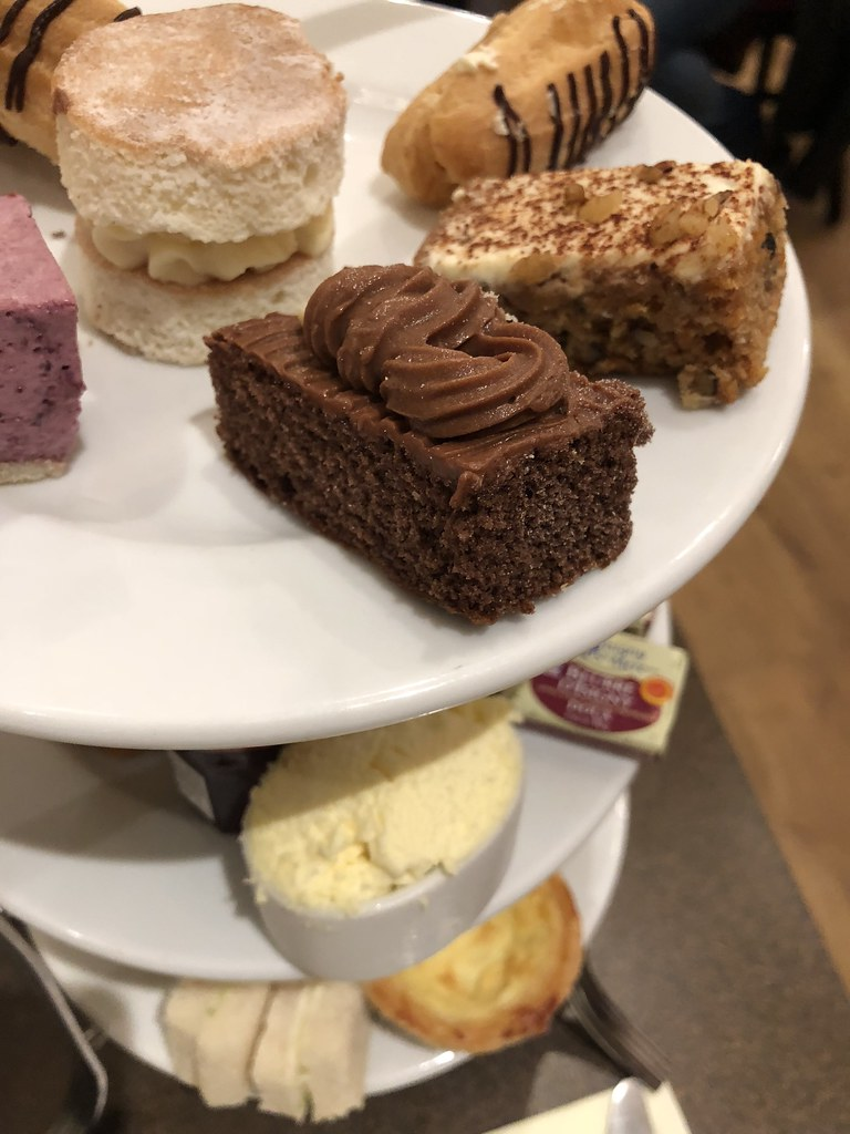 Patisserie Valerie afternoon tea uk