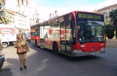 Bus dans la ville de Valencia