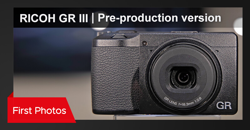Pre-production RICOH GR III photos from Photokina 2018