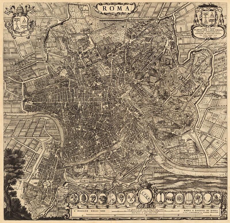 Alexis-Hubert Jaillot - Roma (1708)