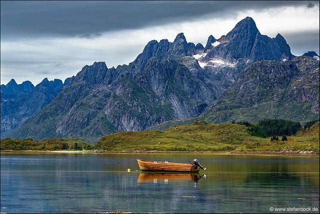 Tengelfjord Lofoten Norway, Canon EOS 5D MARK III, Canon EF 70-300mm f/4-5.6L IS USM