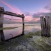 Sunset at tha old explosives wharf by Gary Eastwood