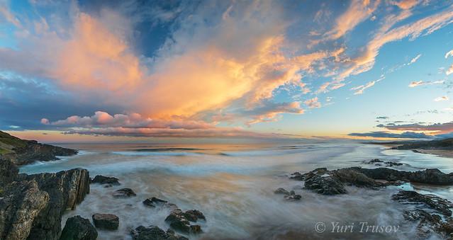 Sunset in Coffs Harbor, Nikon D810, AF-S Nikkor 16-35mm f/4G ED VR