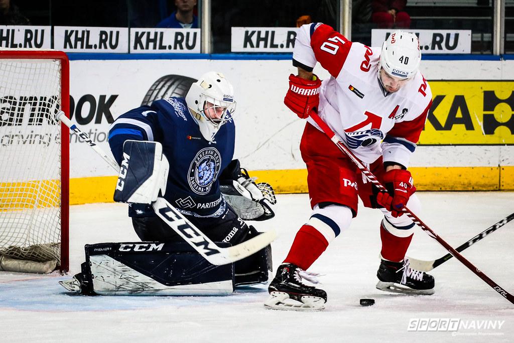 HC Dinamo-Minsk & HC Lokomotiv. 12/10/2018