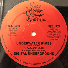 DIGITAL UNDERGROUND:UNDERWATER RIMES(LABEL SIDE-A)