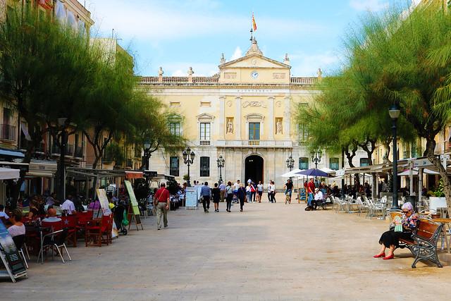 Tarragona inner city