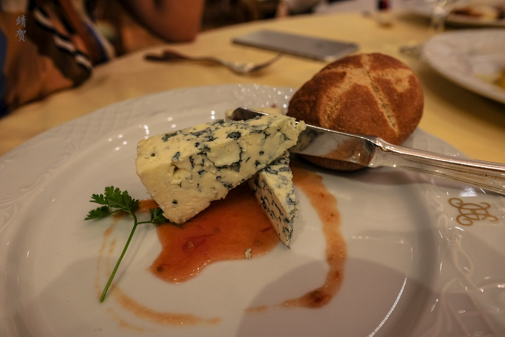 Oesterkron cheese with tomato jam