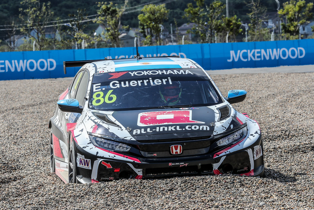 86 GUERRIERI Esteban, (arg), Honda Civic TCR team ALL-INKL.COM Munnich Motorsport, action during the 2018 FIA WTCR World Touring Car cup of China, at Ningbo  from September 28 to 30 - Photo Marc de Mattia / DPPI