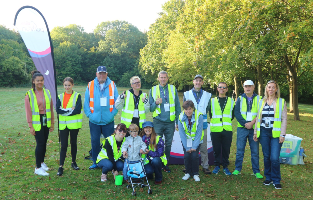 Parkrun #120 volunteers