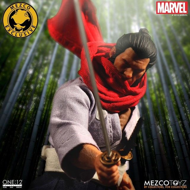 2018 Fall Exclusive MEZCO ONE:12 COLLECTIVE Wolverine 5 Ronin 1/12 Scale Figure