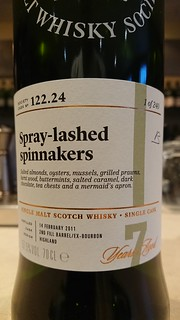 SMWS 122.24 - Spray-lashed spinnakers