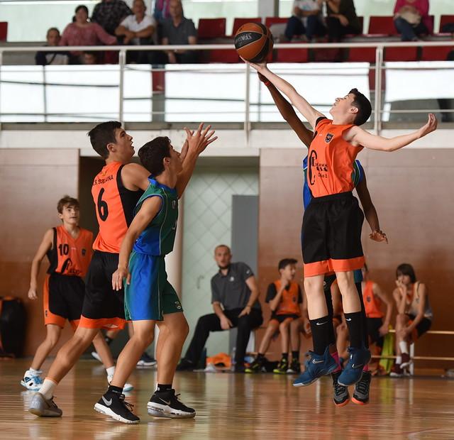 06.10.2018 Cadet masculí contra CB Llívia-Puigcerdà