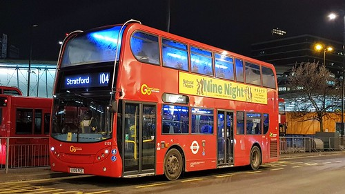 Go Ahead London E128 - Route 104