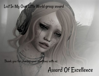 Lost In My Own Little World group award