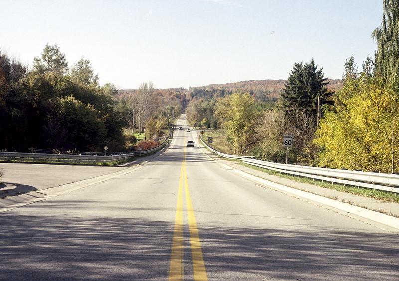 Sunday morning on Olde Base Line Road