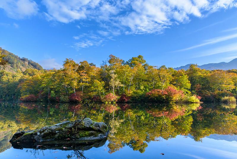 Autumn kama pond Otari NAGANO 2018