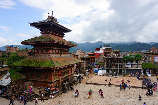 View of Bhairavnath Temple Bhaktapur