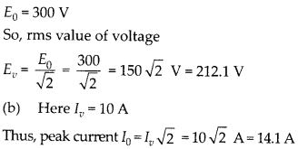 NCERT Solutions for Class 12 Physics Chapter 7 Alternating Current 4