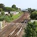 43 030 & 43 018 1C71 0635 Paddington - Penzance curve past  150 234 2F13 0820 Paignton - Exmouth at Dawlish Warren (0857) Monday 2nd July 2018