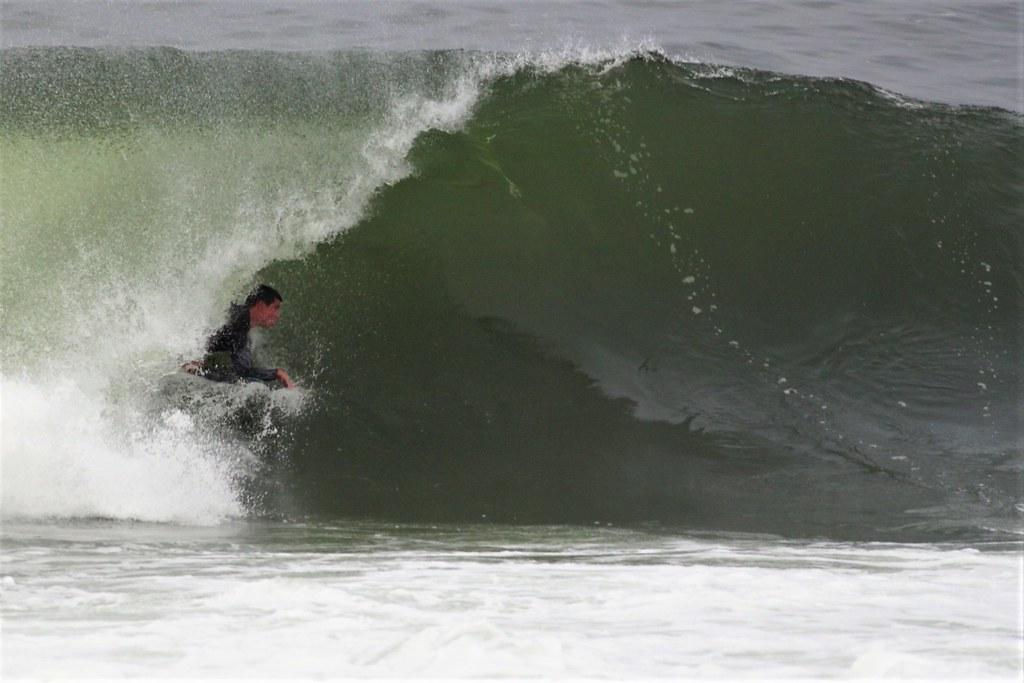 Maxi in the barrel