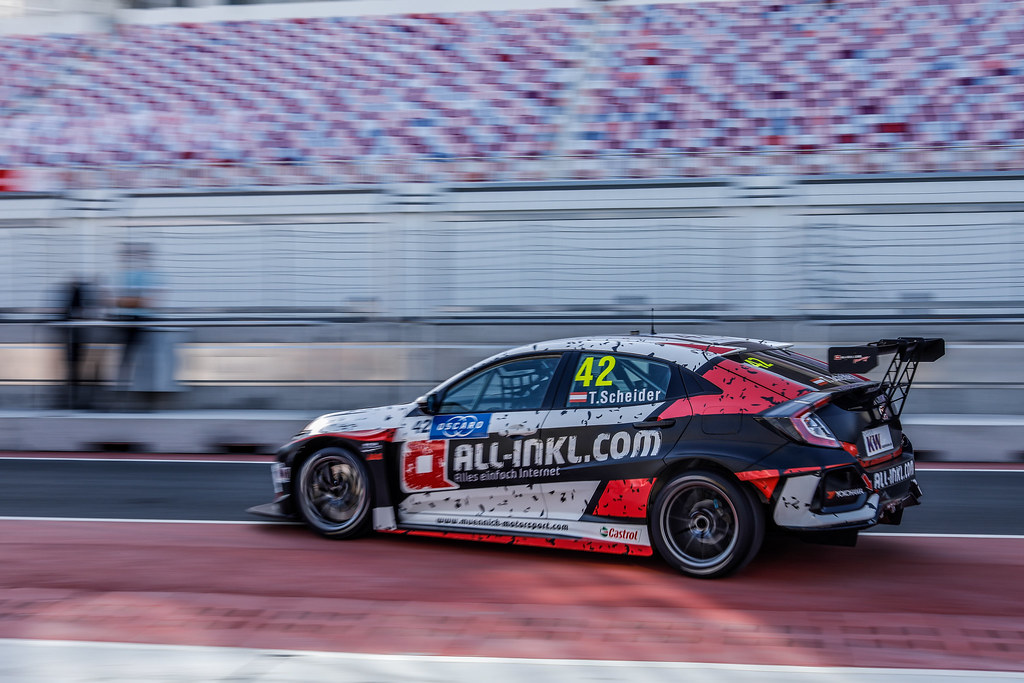 42 SCHEIDER Timo, (deu), Honda Civic TCR team ALL-INKL.COM Munnich Motorsport, action during the 2018 FIA WTCR World Touring Car cup of China, at Ningbo  from September 28 to 30 - Photo Marc de Mattia / DPPI