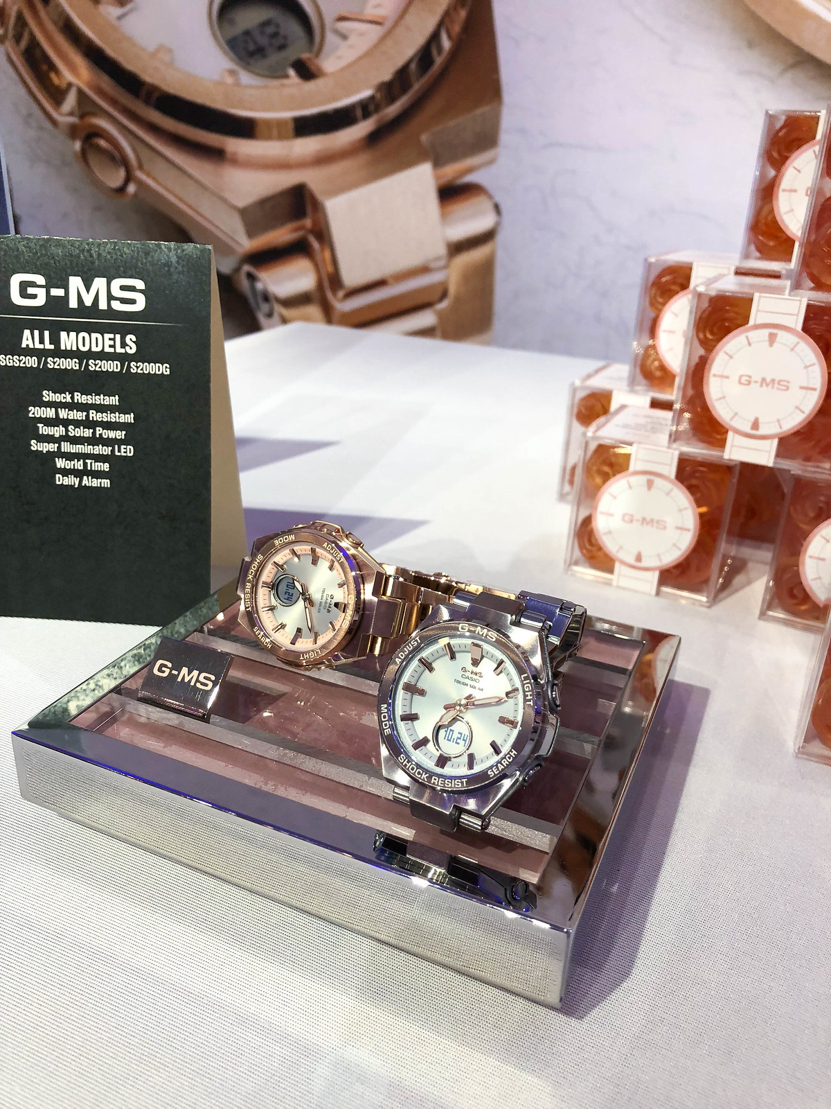 "It's ""Time"" to Upgrade Your Fall Wardrobe with G-SHOCK G-MS line"