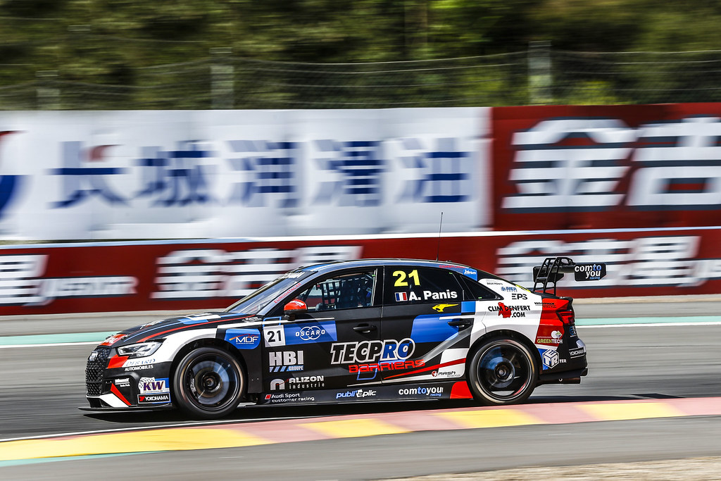 21 PANIS Aurelien, (fra), Audi RS3 LMS TCR team Comtoyou Racing, action during the 2018 FIA WTCR World Touring Car cup of China, at Ningbo  from September 28 to 30 - Photo Jean Michel Le Meur / DPPI