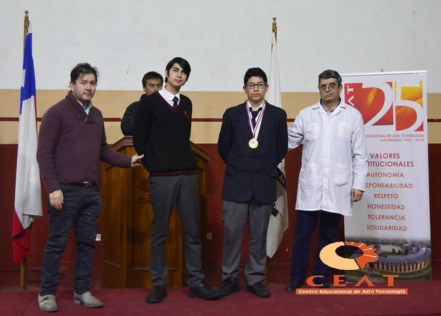 Competencia de Ajedrez en Olimpiada TP Aniversario 25 del CEAT.