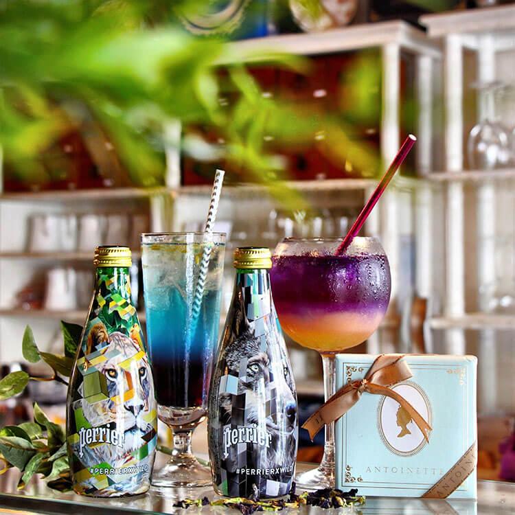 Blue Romance cocktail