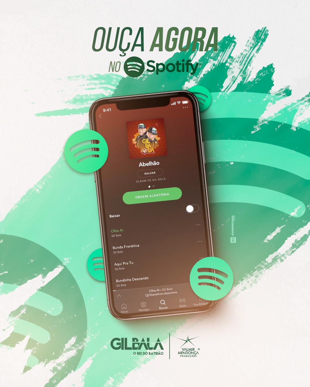 Ouça Agora no Spotify - [Feed]