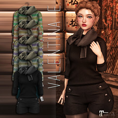 NEW!  Valentina E. Aly Sweater Ensemble @ The Chapter Four!