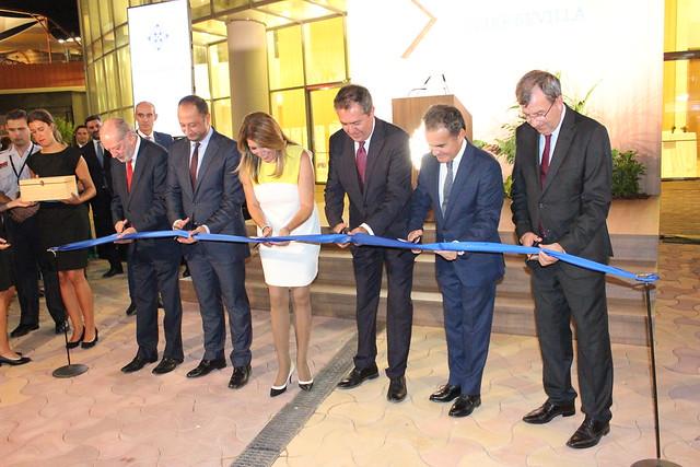 Inauguración Torre Sevilla