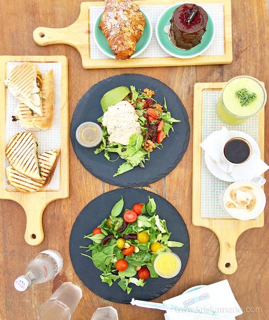 Coffee, Tea, Salads, and Desserts