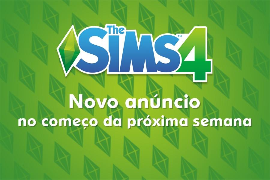 The Sims 4 Anúncio Especial no Começo da Próxima Semana