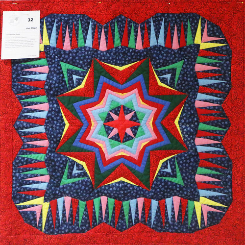 32: Court House Quilt - Jan Stepp