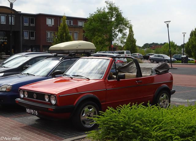 1981 Volkswagen Golf Cabriolet GLS