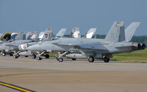 166657 F/A-18E VFA-105 AC-407