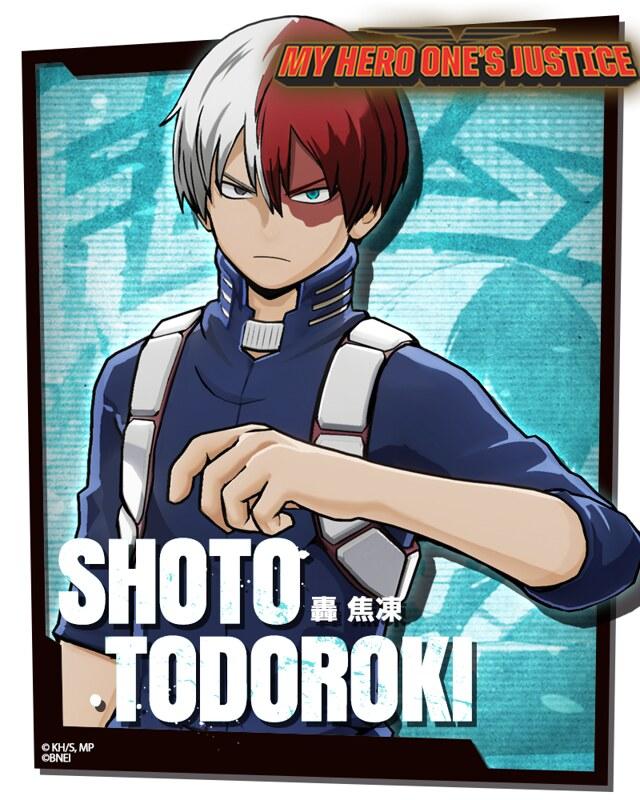 My Hero One's Justice: Shoto Todoroki