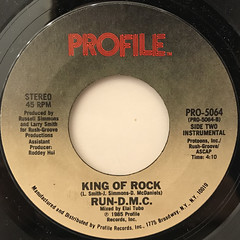 RUN-D.M.C.:KING OF ROCK(LABEL SIDE-B)