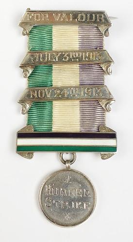 1912 Clara Giveen Suffragette Hunger Strike medal